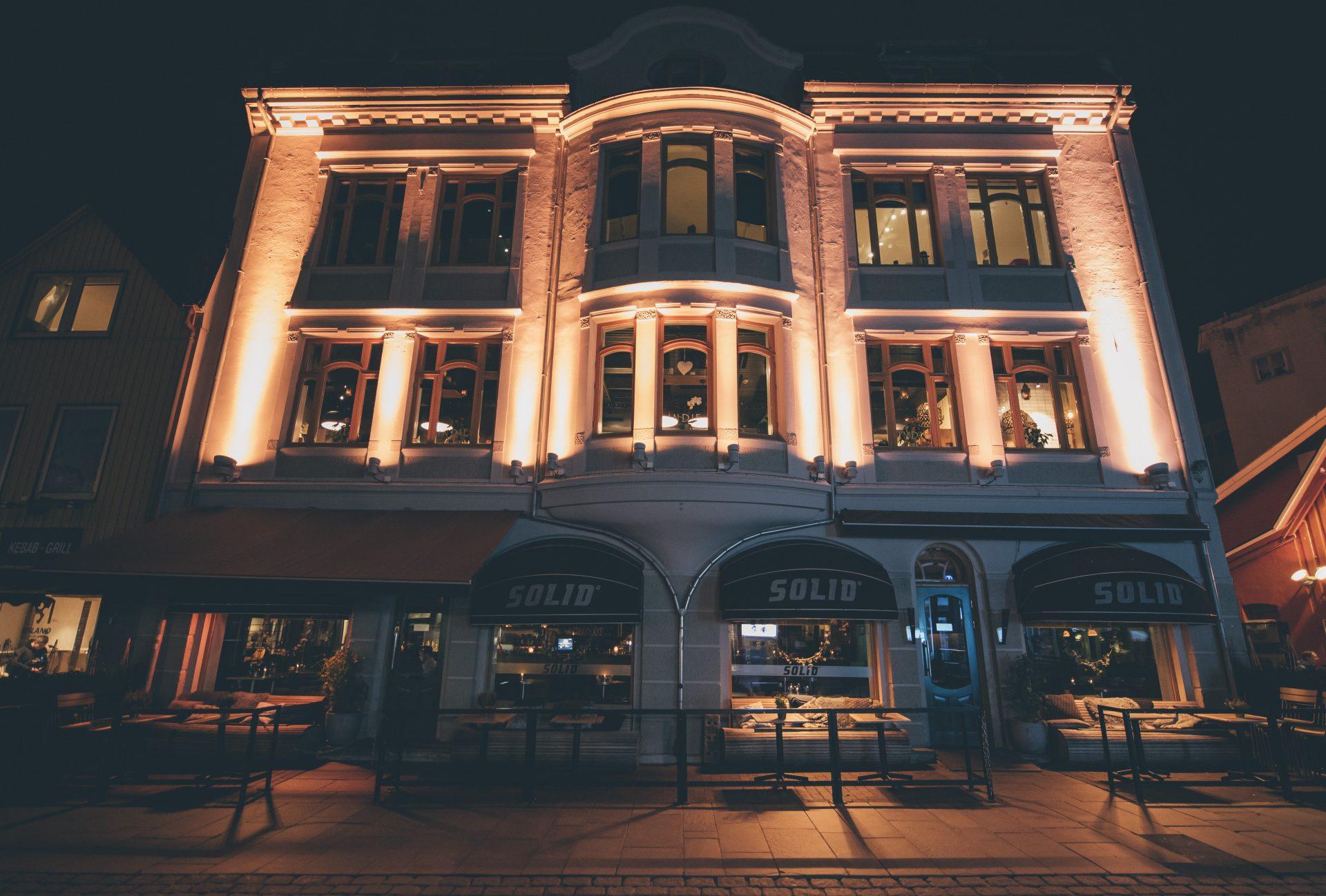 restaurant indie fra utsiden